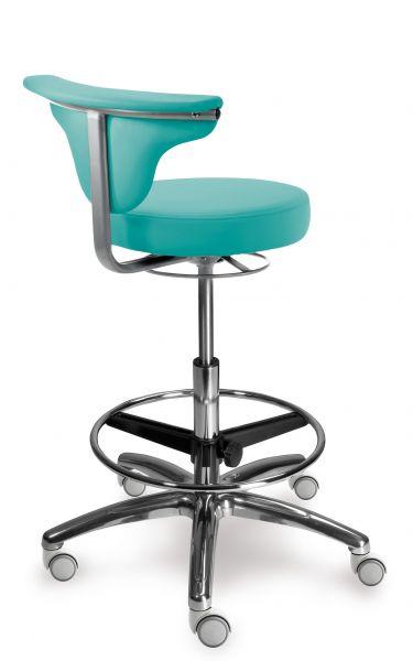 Stolička s oporou